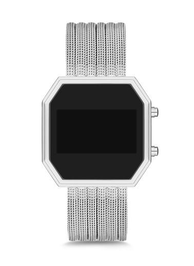 Polo55 Saat Gümüş